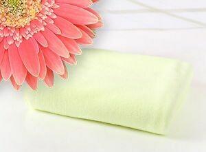 Jessicurl Australia Microfibre Plunking Towel -Yellow