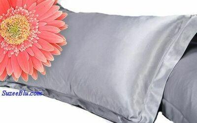 Jessicurl Australia Silk Pillowcase-Platinum