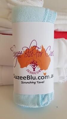 Jessicurl Australia Scrunching Towel - Blue