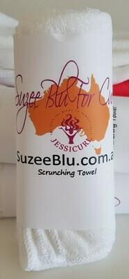 Jessicurl Australia Scrunching Towel - White