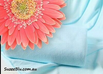 Jessicurl Australia Microfibre Plunking Towel - Blue
