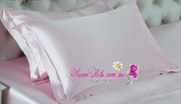 Jessicurl Australia Silk Pillowcase-Pale Pink