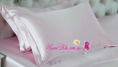 Jessicurl Australia Silk Pillowcase-Pale Pink