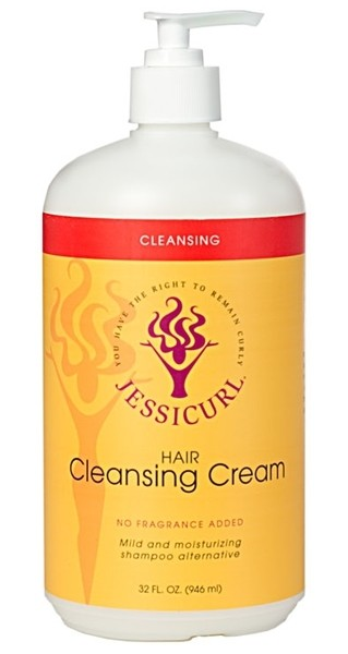 Jessicurl Hair Cleansing Cream No Fragrance Added  946ml (32oz)