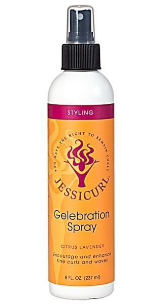 Jessicurl Gelebration Spray Citrus Lavender 237ml (8oz)