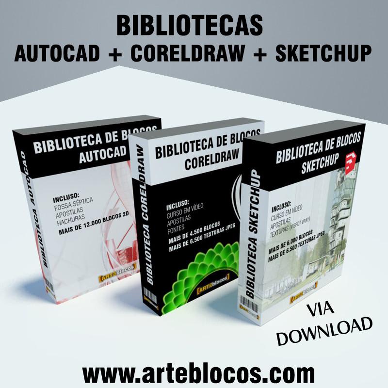 DE BAIXAR BLOCOS AUTOCAD BIBLIOTECA
