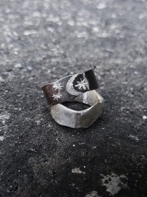 SILVER CANVAS RING
