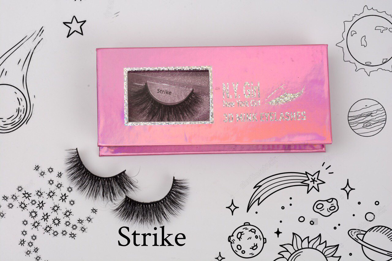 NYG Strike 3D Mink Eyelashes - New York Girl 00479