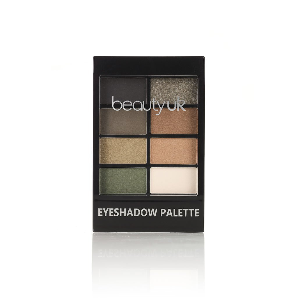 BE2174-5 Eyeshadow Palette - Green with Envy ظلال عيون 00049