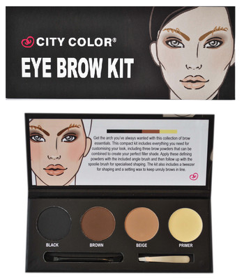 eyebrow kit - city color علبة رسم الحواجب