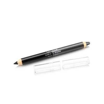 BE2137-2 Double ended jumbo pencil no.2 black and grey قلم كحل و ظلال