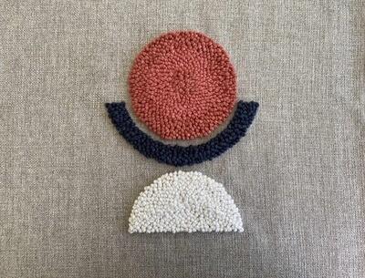 Punch Needle AfriScandi Pattern 1