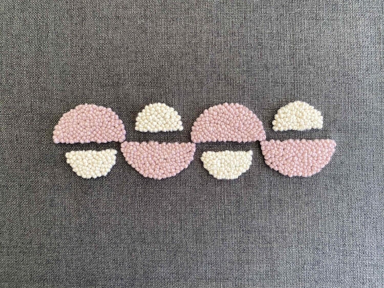 Punch Needle AfriScandi Pattern 8