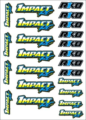 Impact RC Decal Sheet