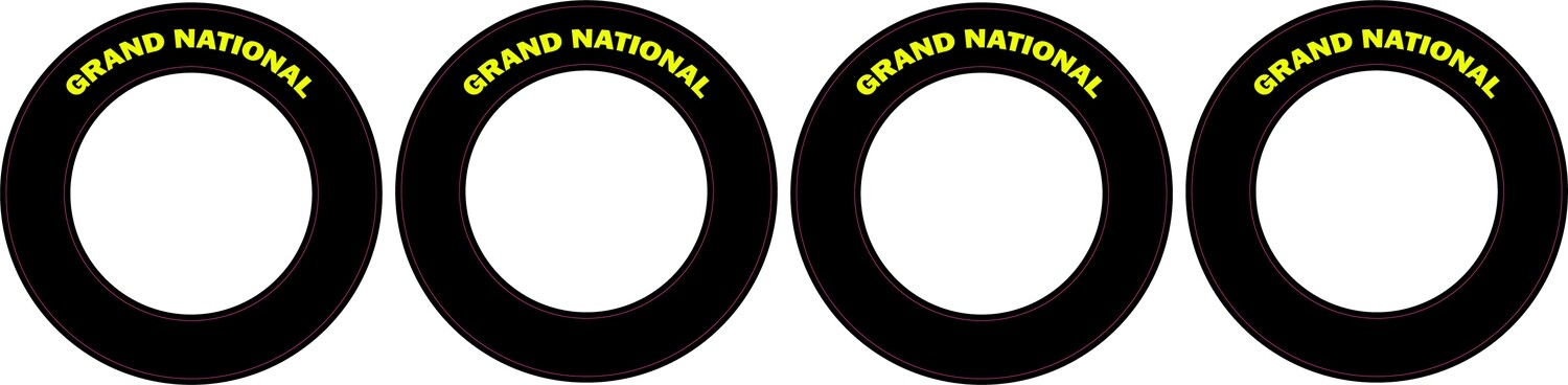 Grand National    CRC Rubber Tire Side Wall Decal