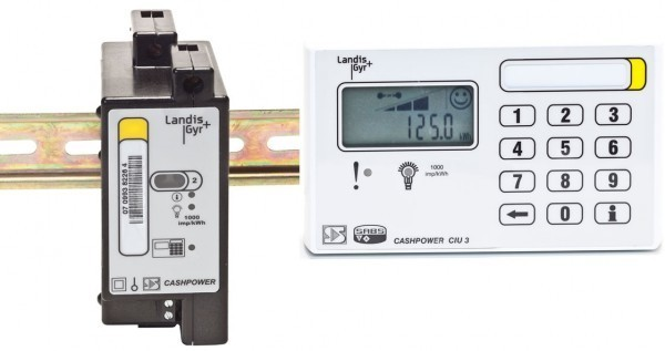 Single Phase (DIN Rail) Prepaid Meter with Wired Keypad