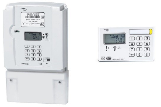 3-Phase Integrated Meter Prepaid Meter with Wired Keypad