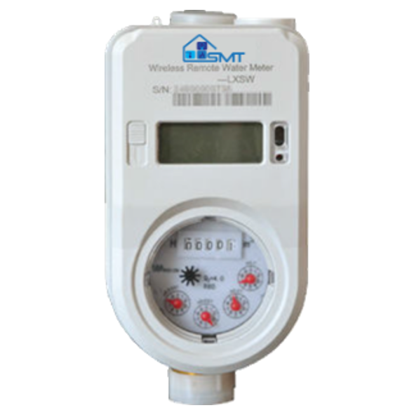 Prepaid Brass Water Meter with UIU (User Interface Unit)