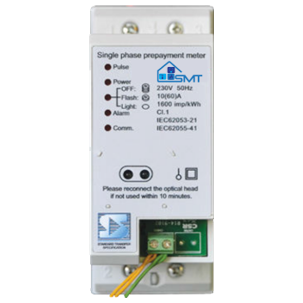 Single Phase (DIN Rail) Split Meter with UIU