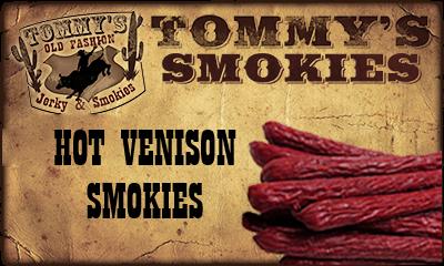 Hot Venison Smokies