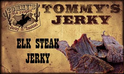 Elk Steak Jerky