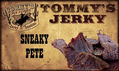 Sneaky Pete Beef Jerky