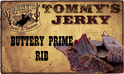 Buttery Prime Rib Beef Jerky