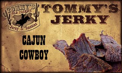 Cajun Cowboy Beef Jerky