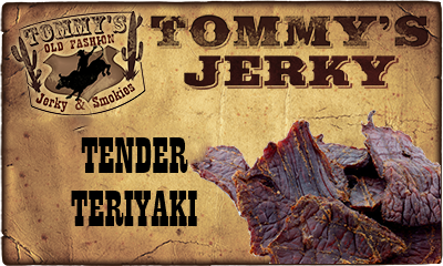 Tender Teriyaki Beef Jerky