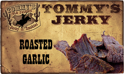 Roasted Garlic Beef Jerky