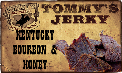 Kentucky Bourbon & Honey Beef Jerky