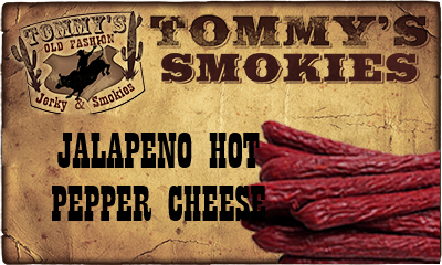 Jalapeno Hot Pepper Cheese Beef Smokies