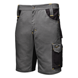 "Shorts ""Fusion"" schiefergrau/schwarz"