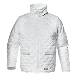 """Jacke """"Thermo"""" weiss"""