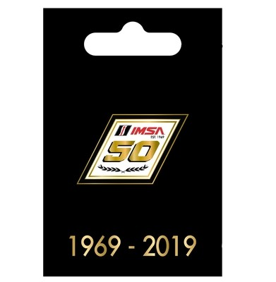 IMSA 50th Lapel Pin