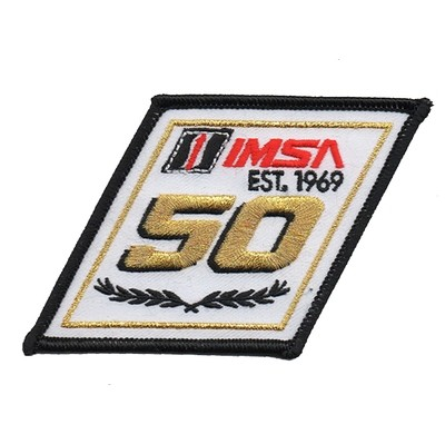 IMSA 50th Logo Patch