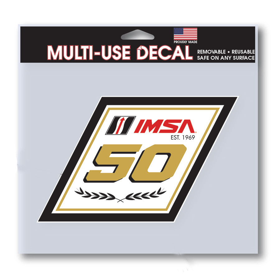 50th Logo Decal