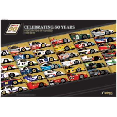 50th IMSA Past Cars Poster