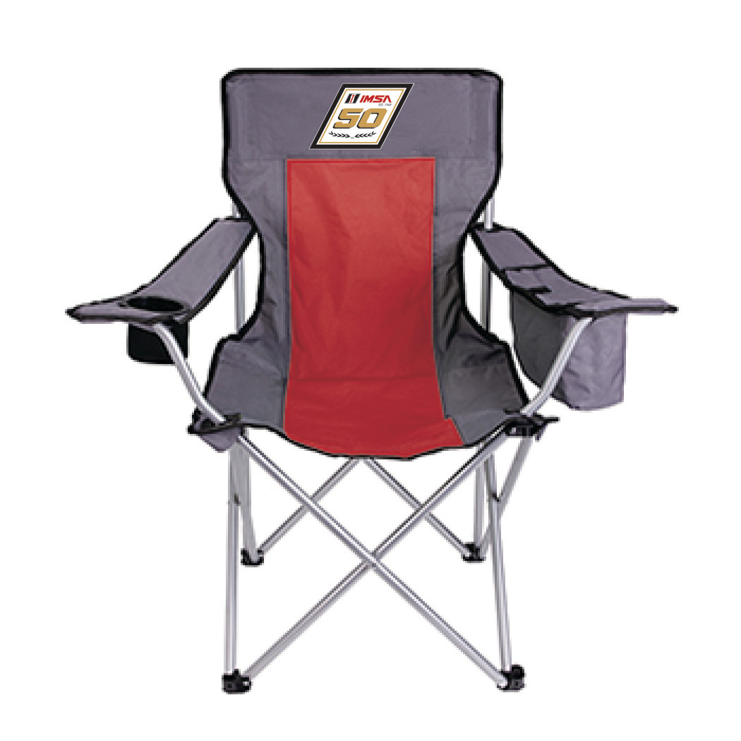 IMSA 50th Camp Chairs Red