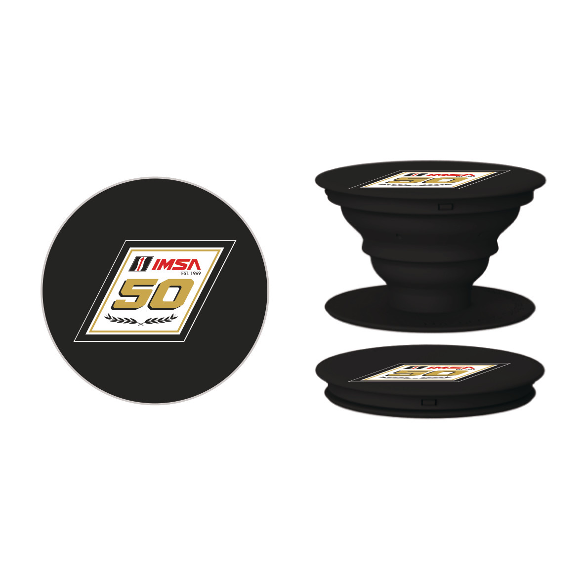 IMSA 50th Anniversary Pop Socket