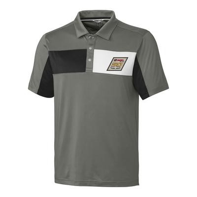 IMSA 50th CBuck Logan Polo - Grey/Black/White