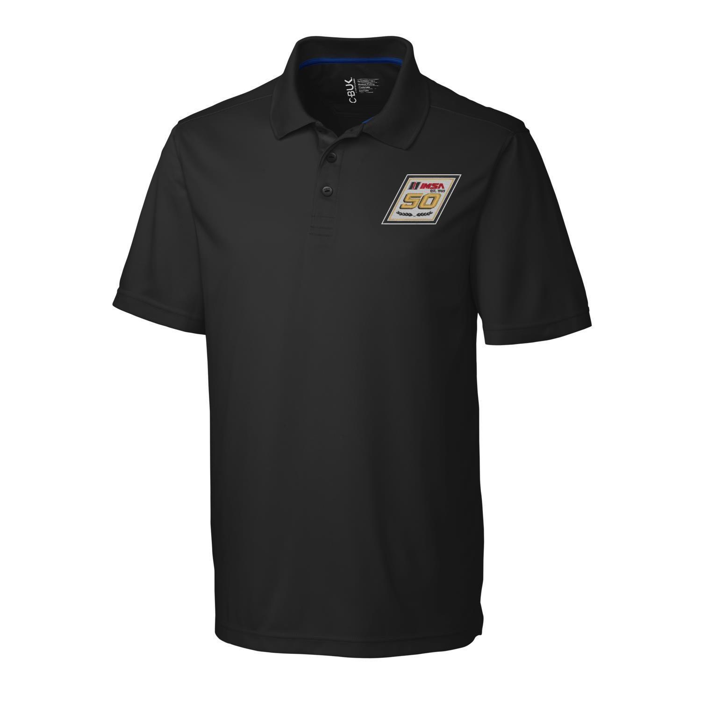 IMSA 50th CBuck Fairwood Polo - Black