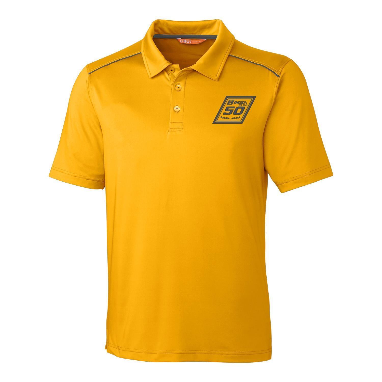 IMSA 50th CBuck Chance Polo - Gold