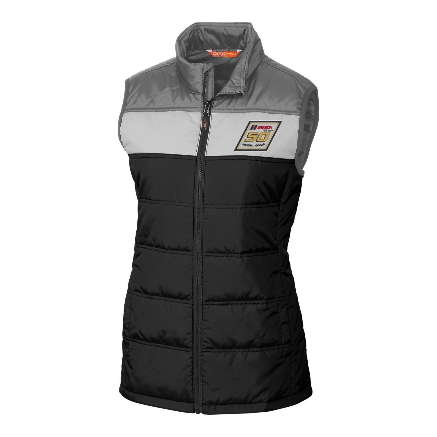 IMSA 50th CBuck Ladies Thaw Vest -Silver