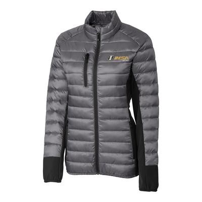 IMSA 1969 Clique Ladies Lemont Jacket - Silver/Black
