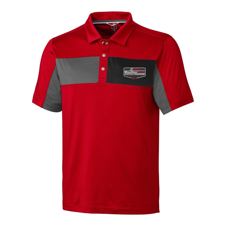 WeatherTech CBuck Logan Polo -Red/Black/Grey