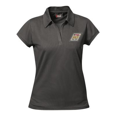 IMSA 50th Clique Ladies Fairfax Polo - Petro Grey