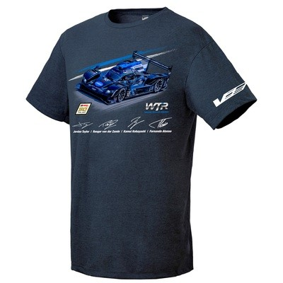 Wayne Taylor/IMSA 50th Anniversary Tee  - Navy Heather