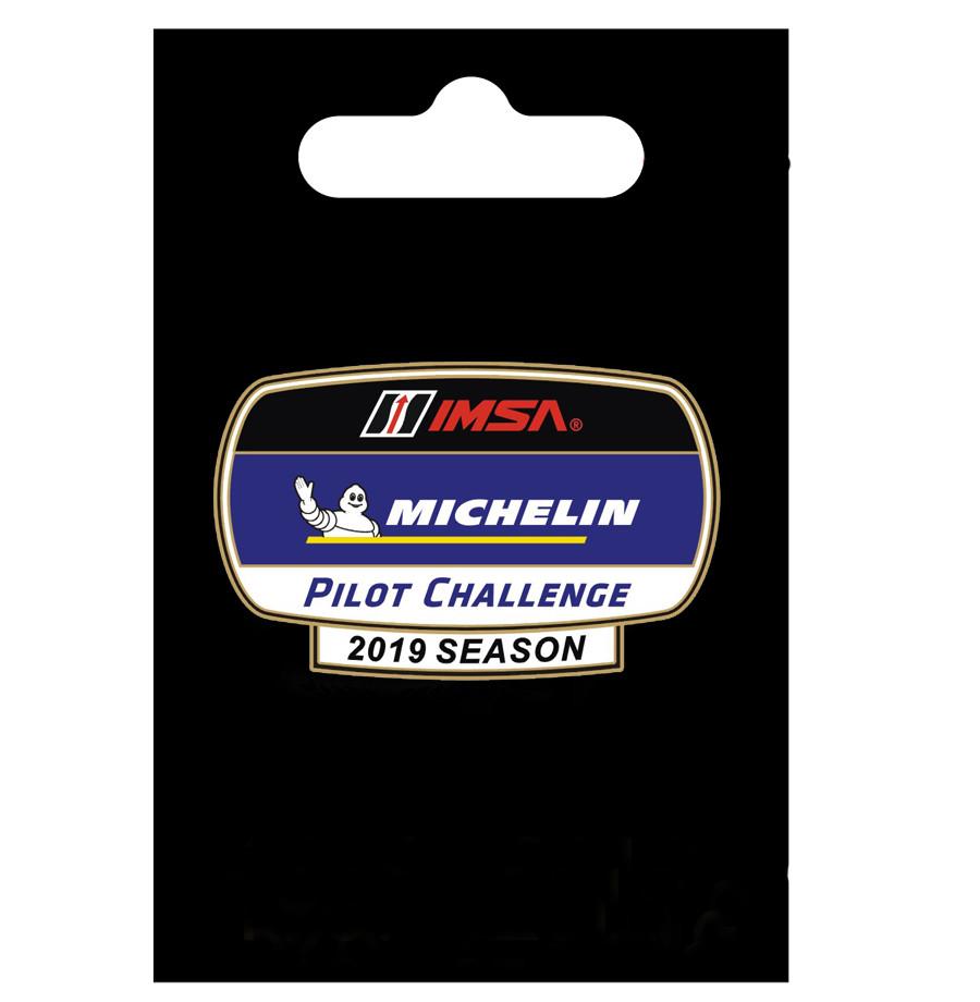 IMSA Michelin Pilot Challenge Lapel Pin