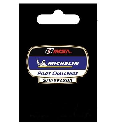 IMSA 2019 Pilot Challenge Lapel Pin